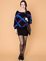 Vintage Angora Ribbons Sweater
