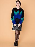 California Select Originals Cropped Mohair Sweater