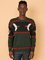 Vintage Ducks Wool Sweater