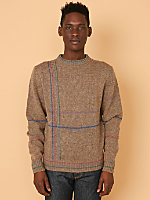 Vintage Lines Wool Sweater