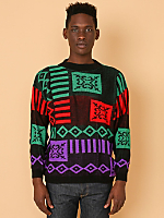 Vintage Bright Knit Sweater