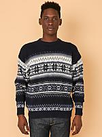 Vintage Cotton Ski Sweater