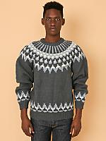 Vintage Fair Isle Wool Sweater