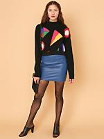 California Select Originals Cropped Angora Sweater