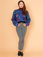 California Select Originals Cropped Mohair Cardigan