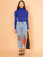 California Select Originals Patched Regular Fit Jean