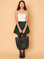 California Select Originals Open Knit Mohair Tank