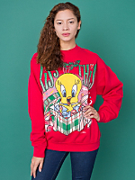 Vintage Tweety Kiss This Christmas Sweatshirt