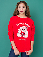 Vintage Hug Me in Louisiana Christmas Sweatshirt