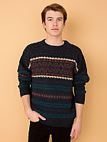 Vintage Pendleton Fair Isle Wool Sweater