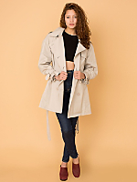 Vintage London Fog Double-Breasted Trench Coat