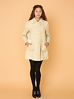 Vintage A-Line Trench Coat