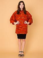Vintage Patterned Haori Kimono Jacket