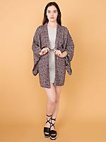 Vintage Floral Haori Kimono Jacket