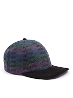 California Select Originals Patterned Wool & Suede Cap