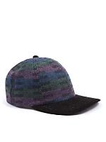 California Select Originals Patterned Wool & Suede Cap