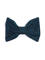 California Select Originals Wool Tweed Bow Hair Clip