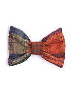California Select Originals Plaid Wool Bow Hair Clip