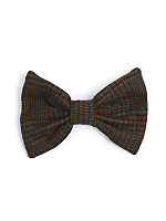 California Select Originals Houndstooth Wool Bow Hair Clip