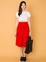 Vintage Mid-Length Wool Skirt