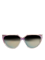 Vintage IOC Mirrored Lavender/Gold Sunglasses