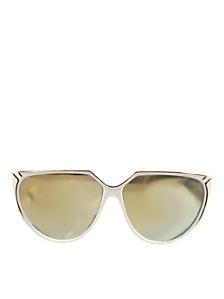 Vintage IOC Mirrored White/Gold Sunglasses