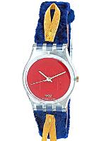Vintage Swatch Cord On Bleu Ladies' Watch