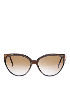 Vintage Nina Ricci Brown Marbled Sunglasses