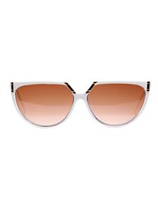 Vintage Helena Rubinstein White/Orange Sunglasses