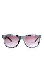 Vintage Jean Pierre Lamy Ridged Plastic Sunglasses
