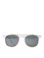 Vintage Removable Clip Sunglasses