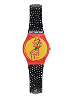 Vintage Swatch Dotchair Watch