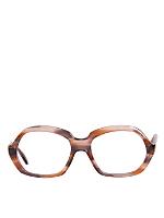 Vintage Marbled Brown Plastic Eyeglasses
