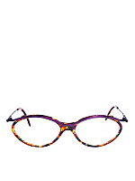 Vintage Le Club Optique Colorful Tortoise Shell Eyeglasses