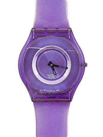 Vintage Swatch Skin New Purple Jelly Watch