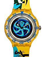 Vintage Swatch Scuba Poulpe Watch