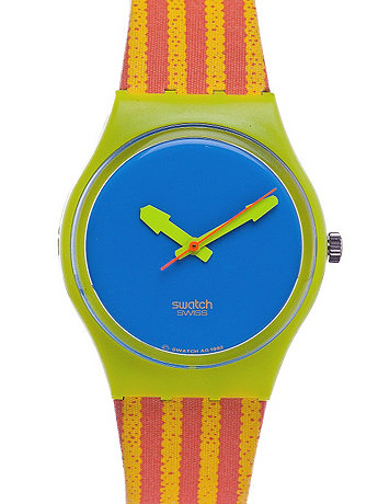 Vintage Swatch Chaise Longue Watch
