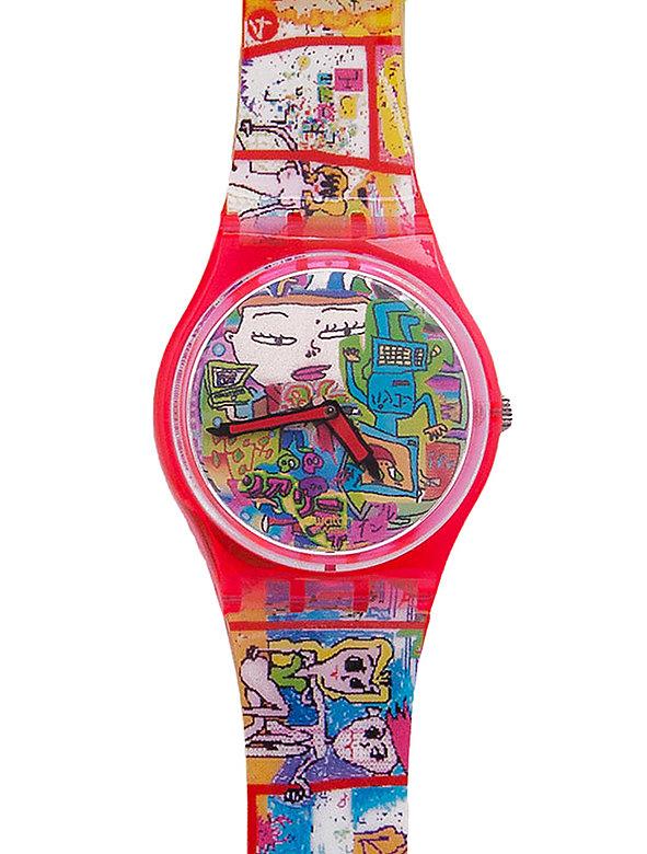 Vintage Swatch Tokyo Manga Watch