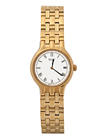 Seiko Roman Numerals Ladies' Metal Band Watch