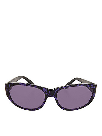 Vintage Le Club Optique Marbled Purple Sunglasses