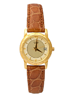 Vintage Citizen Gold/Tan Ladies' Leather Watch