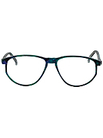 Vintage Burdett London Marbled Indigo/Teal Eyeglasses