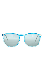 Vintage IOC Blue Cloud Frame Sunglasses