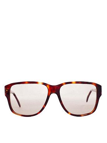Vintage EK Oversized Tortoise Shell Sunglasses