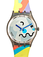 Vintage Swatch Cosmesis by Alessandro Mendini Watch