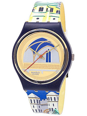 Vintage Swatch Backstage Watch