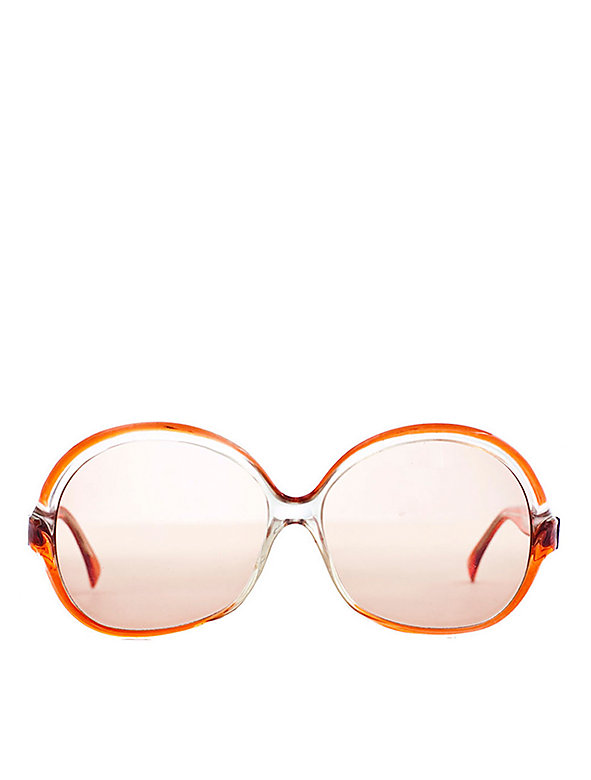 Vintage Lanvin Oversized Round Sunglasses