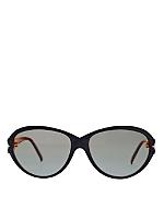 Vintage Nina Ricci Black/Gold Accent Sunglasses
