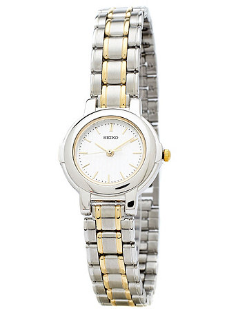 Seiko Silver/Gold Ladies' Metal Band Watch