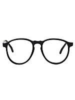 Vintage Burdett London Matte Black Eyeglasses